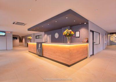 The Pretoria Hotel reception