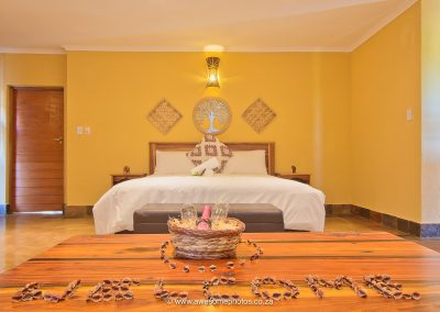 Karula Lodge Klaserie welcome gift in bedrooms