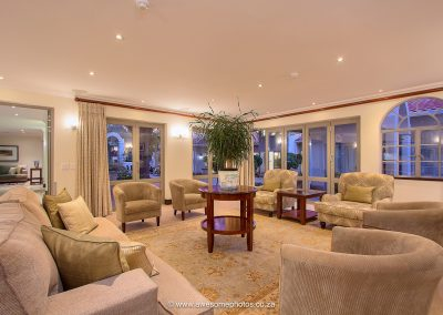 The Syrene Hotel private lounge area
