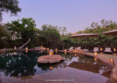 Sediba Private Game Lodge pool
