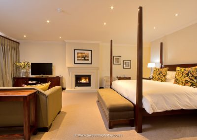 The Syrene Hotel rooms with fireplace